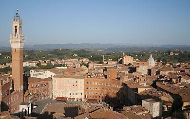 Siena in der Toscana